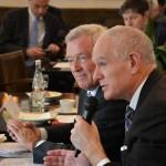 Jean-Louis Bal, Président du SER et Serge Lepeltier, Président d'EdEN