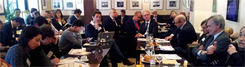 Atelier débat au Waknine Paris