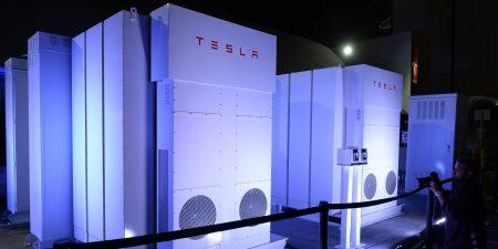Tesla Battery System