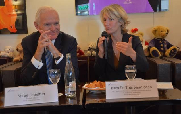 Serge Lepeltier & Isabelle This Saint Jean