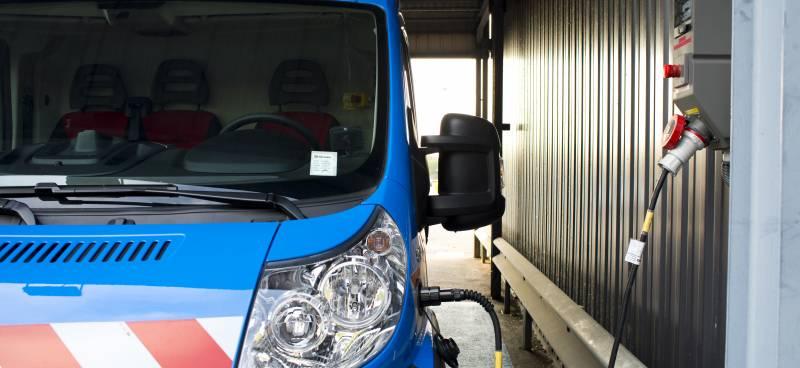 Rechargement du véhicules électriques légers Renault Kangoo