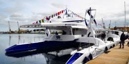 Embarquez sur le premier bateau autonome avec la mise à l'eau de l'Energy Observer !