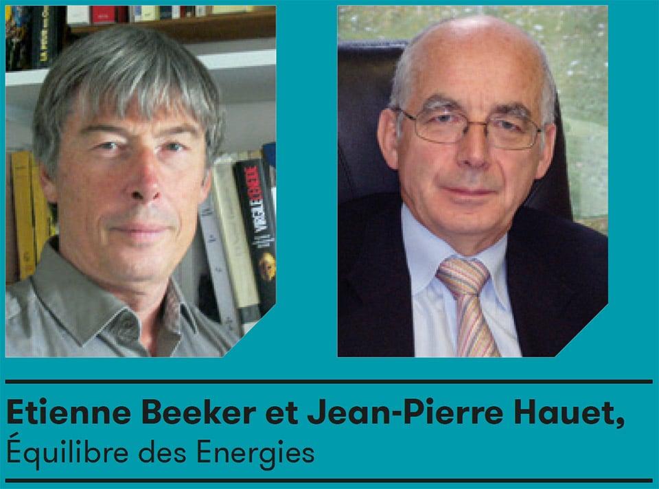 Etienne Beeker et Jean-Pierre Hauet, Équilibre des Energies