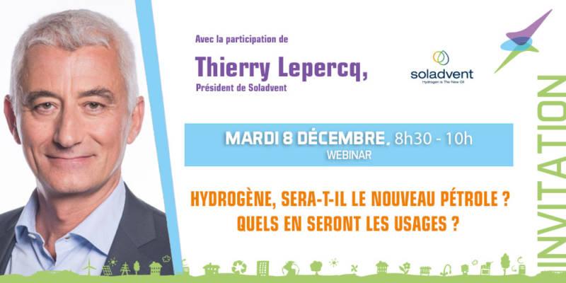 invitation Thierry Lepercq, Président de Soladvent
