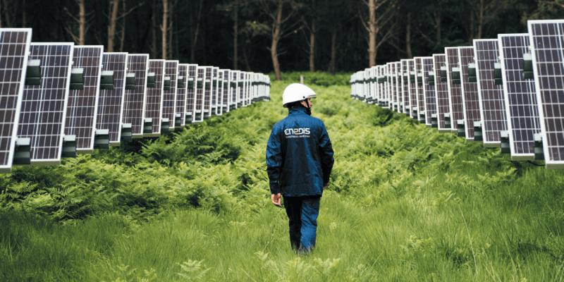 panneaux photovoltaiques Enedis